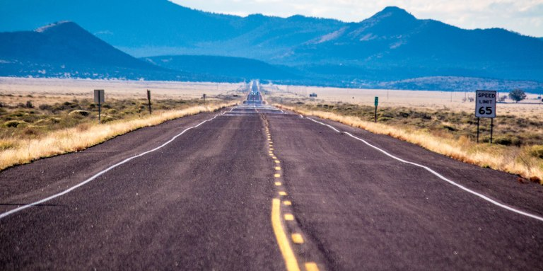 The call of the open road, the dusty highway...