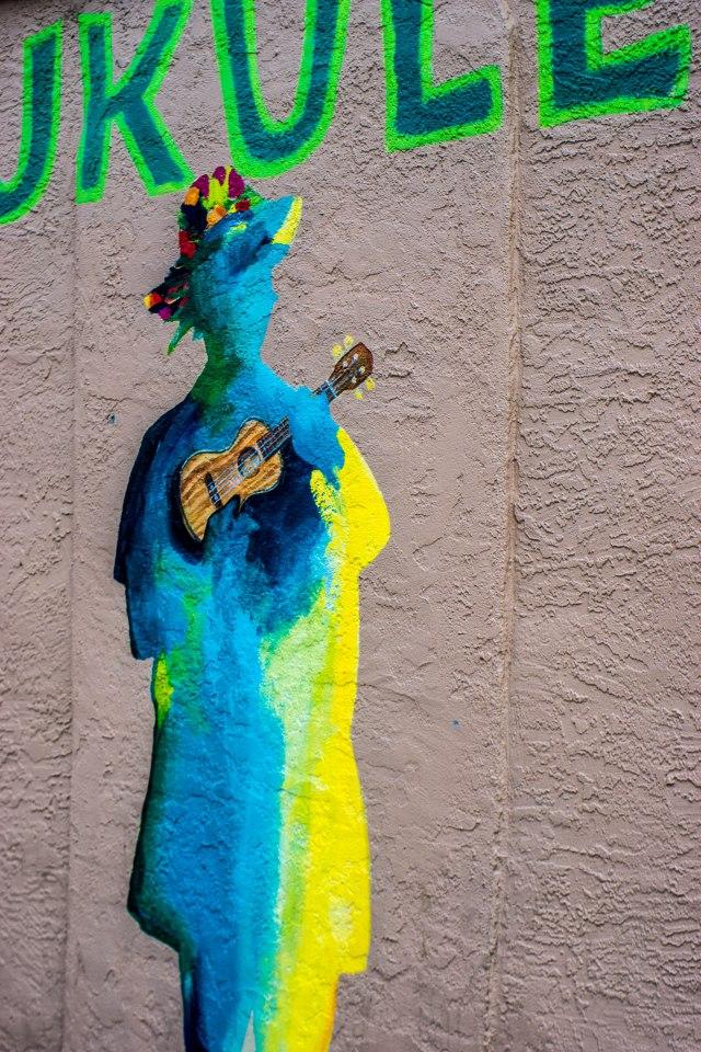 Uke Mural